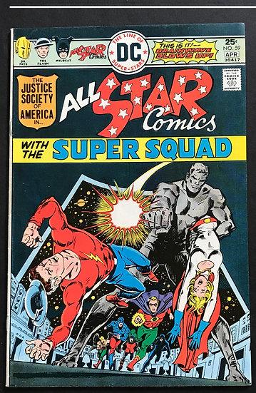 All Star Comics (DC) #59 VF/NM