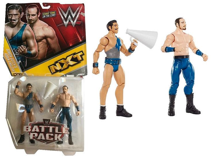 WWE NXT Battle Pack Simon Gotch And Aiden English [New, Damage Box]