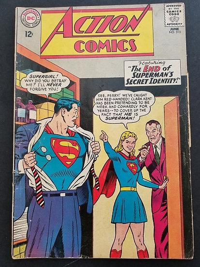 Action Comics #313 VG