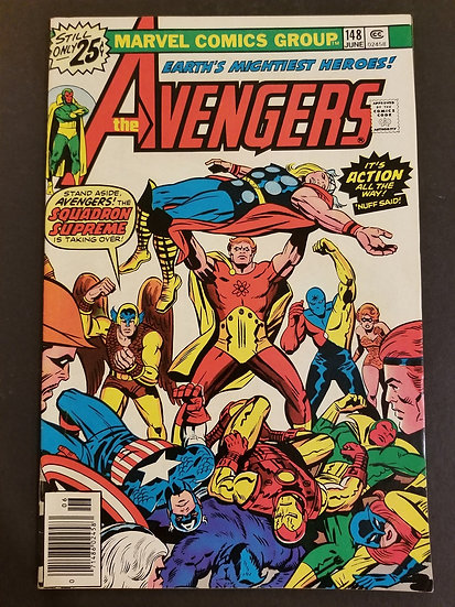 Avengers (1963 1st Series) #148 NM-