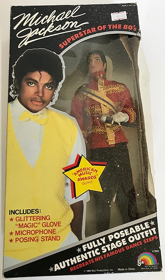 1984 Michael Jackson Superstar of the 80's American Music Awards Outfit