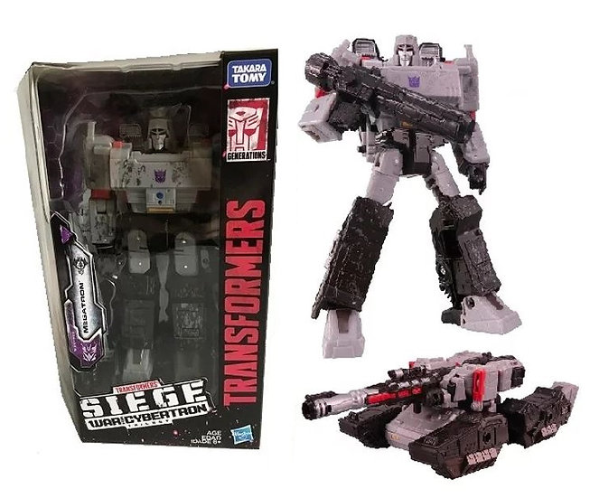 Transformers Generations War For Cybertron Siege Voyager Class Megatron