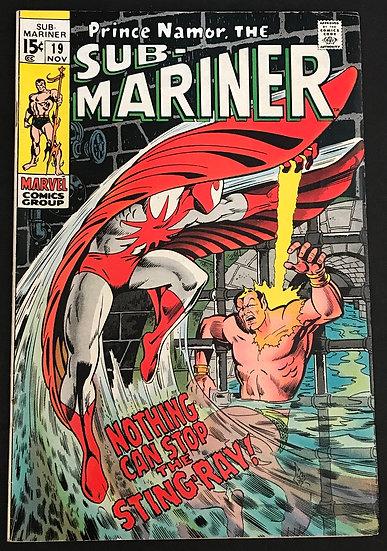 Sub-Mariner (1968 1st Series) #19  FN