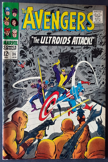 Avengers (Marvel ) #36 VF [Black Widow App.]