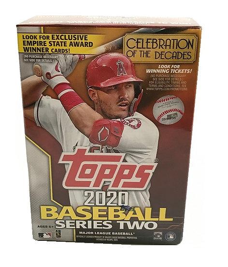 2020 Topps MLB Series 2 Baseball Trading Card Blaster Box