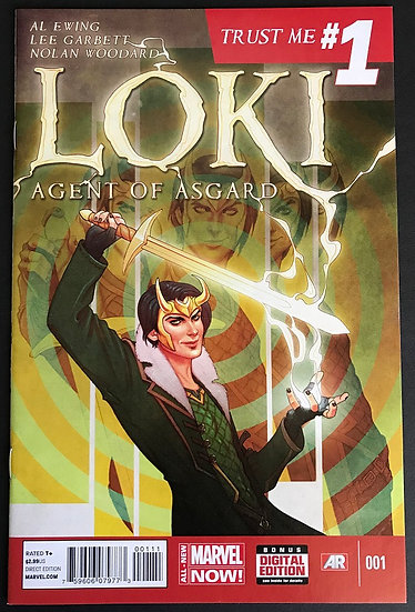 Loki Agent of Asgard (2014) #1A NM-