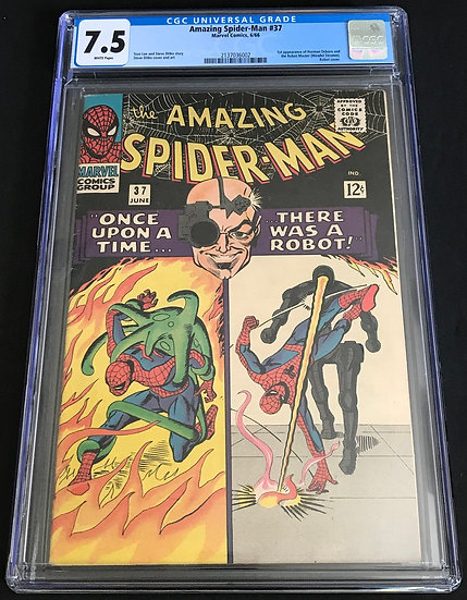 Amazing Spider-Man #37 CGC 7.5 White Pages