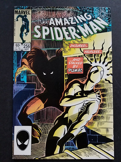 Amazing Spider-Man 256 NM-. 1st appearance of Puma.