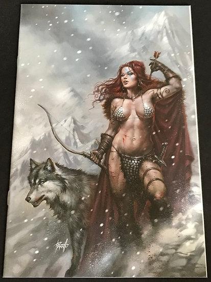Red Sonja #4 VF (Lucio Parrillo  Megacon Variant)