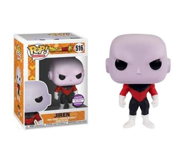 Funko Pop Dragon Super Jiren 516 Limited Edition Convention Exclusive