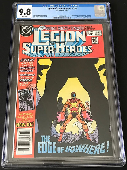 Legion of Super-Heroes 298 CGC 9.8 White Pages