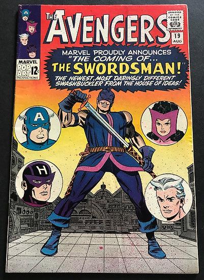 Avengers 19 VG/FN