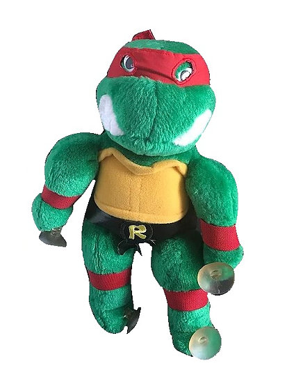 "1988 Teenage Mutant Ninja Turtles Raphael Playmates 15"" Plush Stuffed[Vintage]"