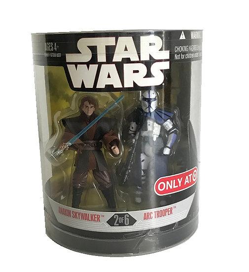 2017 Star Wars Revenge of the Sith Order 66 Anakin Skywalker&Arc Trooper 2 Pack