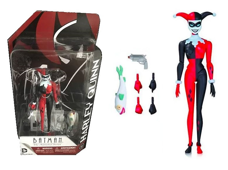 Dc Collectibles Batman The Animated Series Harley Quinn 5.25 inch Tall Figure