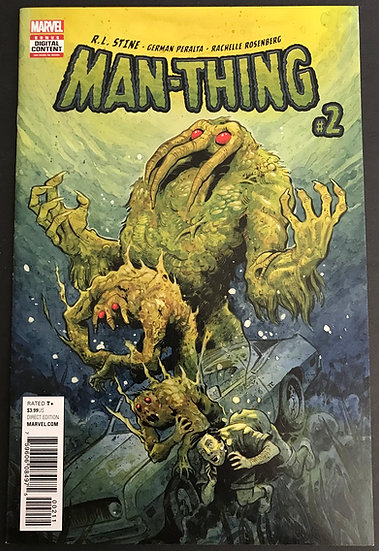 Man-Thing (2017 Marvel) #2A NM-