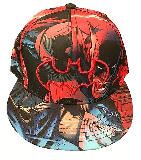 Batman Dc All Over Snapback Hat