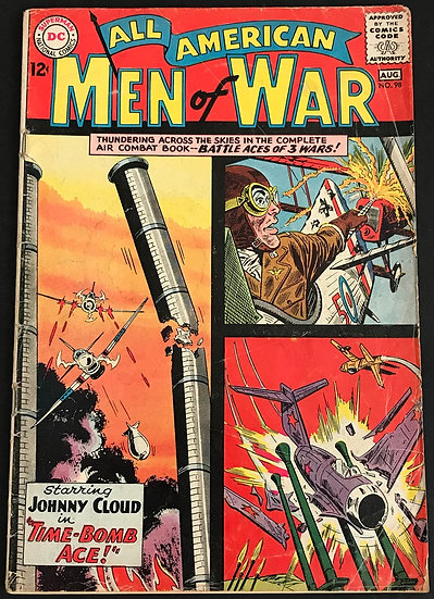 All American Men of War (1952) #98 VG