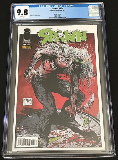Spawn 104 CGC 9.8 White Pages [German Edition]