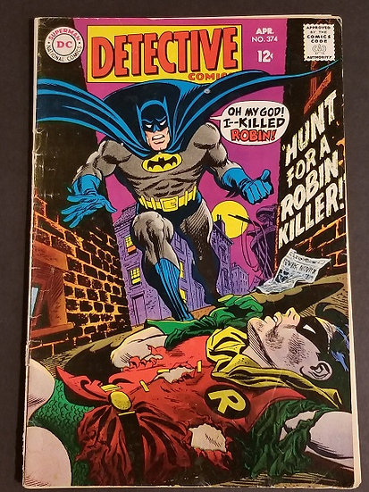 Detective Comics (1937 1st Series) #374 VG/FN