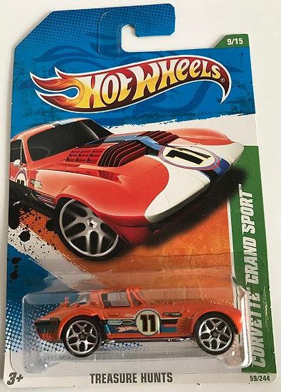 Hot Wheels Treasure Hunts Corvette Grand Sport - 59/244 New Sealed