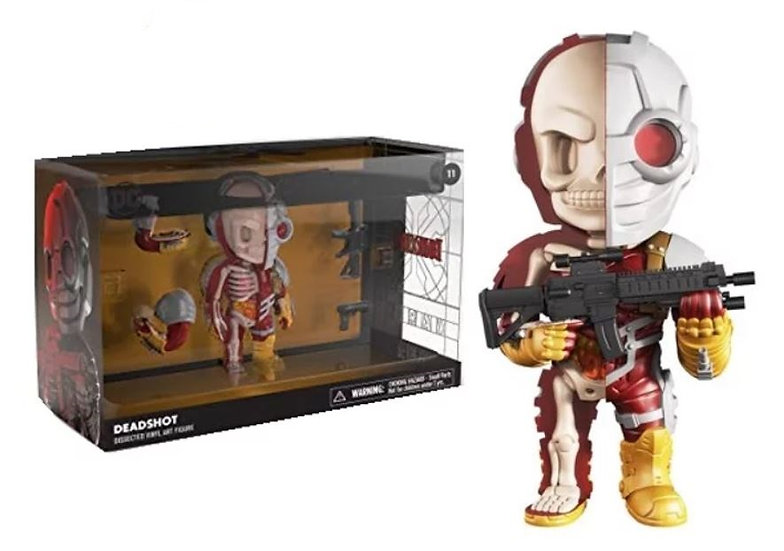 Mighty Jaxx Xxray Deluxe  DC Comics Justice League Deadshot 11 Figure
