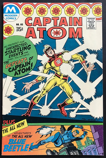 Captain Atom (Modern) #83 VF- [Reprint]