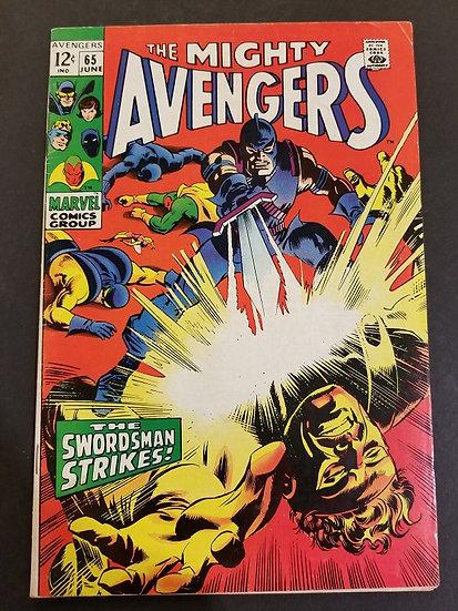Avengers (Marvel ) #65 FN