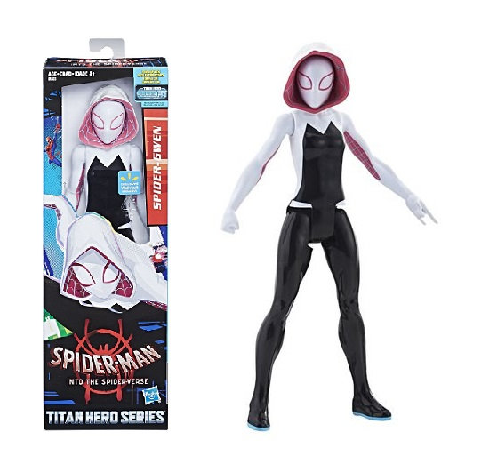 Spider-Man Into the Spider-Verse Spider-Gwen with Titan Hero Power FX Port