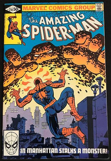 Amazing Spider-Man (Marvel) #218 VF+