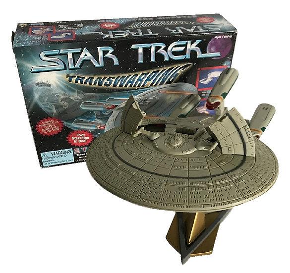 1996 Vintage Star Trek Transwarping Starship Enterprise By Playmates[Sold As Is]