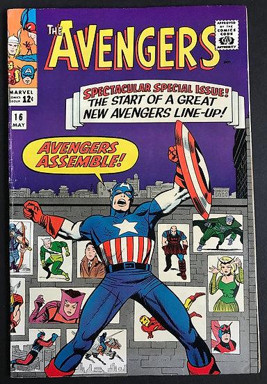 Avengers (Marvel ) #16 FN