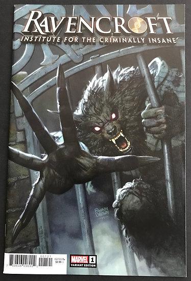 Ravencroft (2020 Marvel) #1 NM [Retailer Incentive Variant Cover]