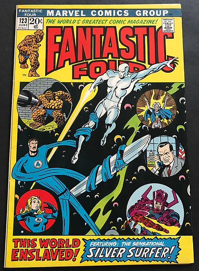Fantastic Four (1961 1st Series) #123 VF/NM [Nixon Cover]