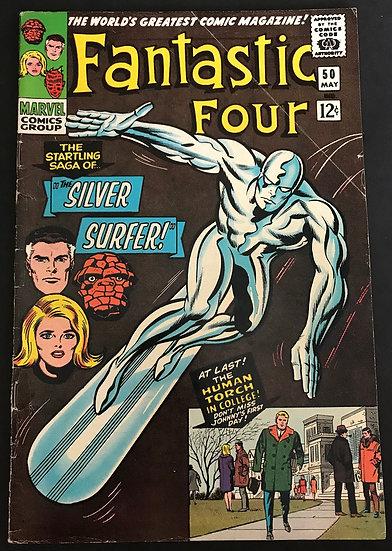 Fantastic Four (1961 1st Series) #50 VG+