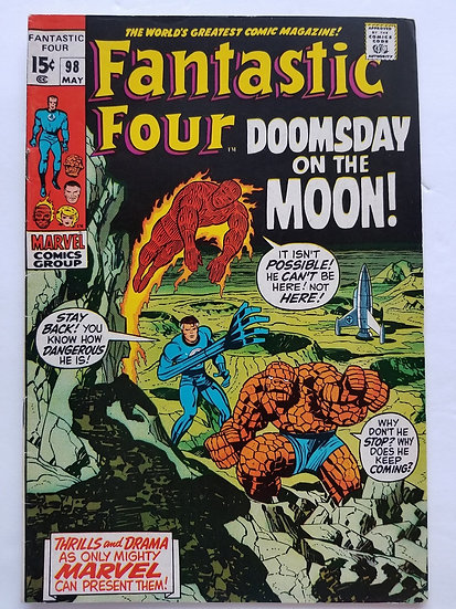 Fantastic Four (1961 1st Series) #98