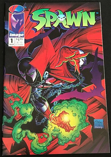 Spawn (Image) #1 [1st appearance of Spawn]