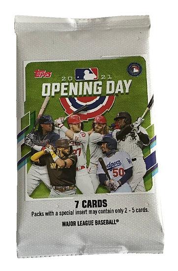 2021 Topps Opening Day Baseball Cards Hobby Pack
