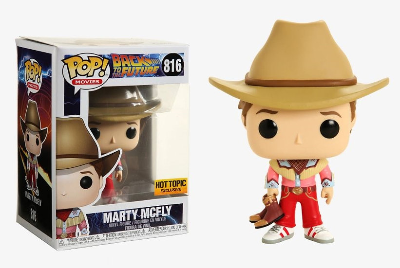 Back To The Future Marty Mcfly 816 Hot Topic Exclusive