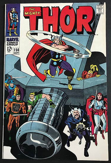 Thor (1962-1996 1st Series Journey Into Mystery) #156 VF+