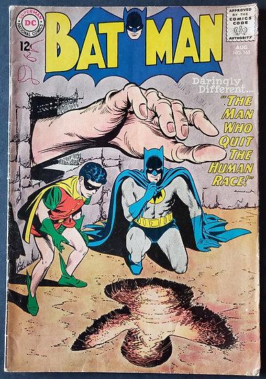 Batman (1940) #165 FN- [1st Patricia Powell]