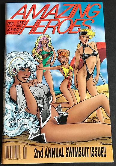 Amazing Heroes #138 (Fantagraphics)