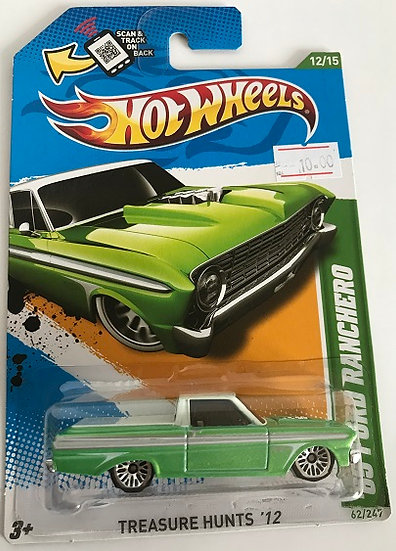 Hot Wheels Treasure Hunts 12 '65 Ford Ranchero - 62/247 New Sealed