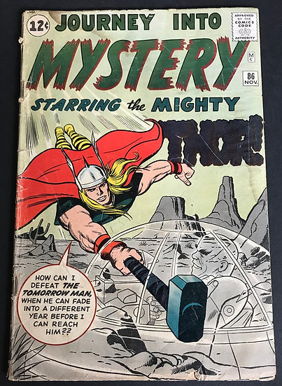 Thor (1962-1996 1st Series Journey Into Mystery) #86 GD