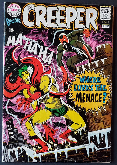 Beware the Creeper (1968 1st Series) #1 VF- [1st Issue]
