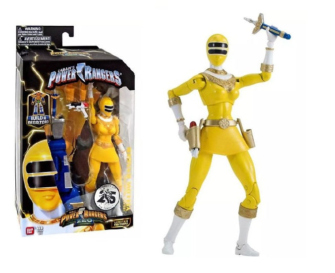 Saban's Power Ranger Legacy Zeo Yellow Ranger Action Figure