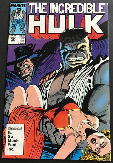 Incredible Hulk #335 VF [So Much Fun Variant]