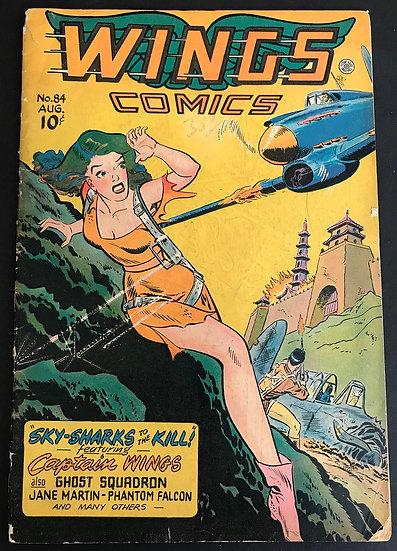 Wings Comics (1940) #84 GD/VG