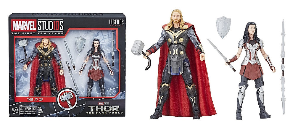 Marvel Studios The First Ten Years Thor The Dark World Thor and Sif