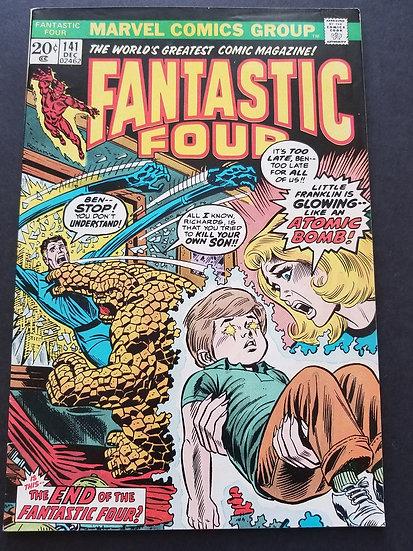 Fantastic Four (1961 1st Series) #141 VF